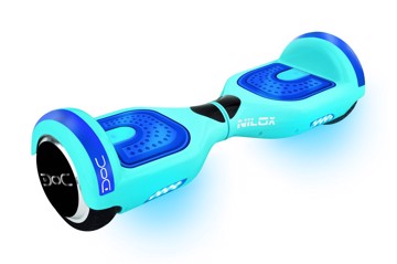 Picture of NILOX DOC N HOVERBOARD SKY BLUE