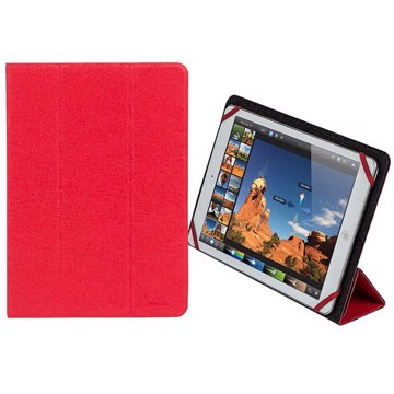 "Εικόνα της RivaCase Malpensa 3127 red/black double-sided tablet cover 10,1"" Θήκη tablet"
