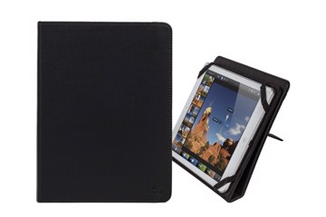 "Εικόνα της RivaCase Gatwick 3217 black kick-stand tablet folio 10.1"" Θήκη tablet"