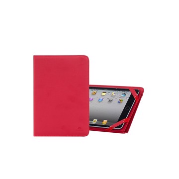 "Εικόνα της RivaCase Gatwick 3217 red kick-stand tablet folio 10.1"" Θήκη tablet"