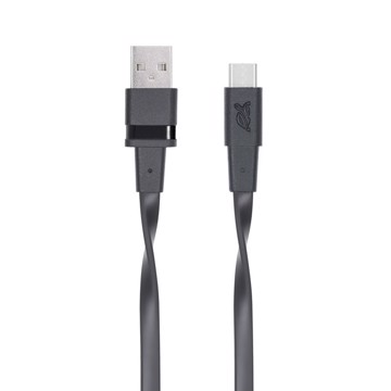 Picture of RIVAPOWER 6002 BK12 Type-C 2.0 – USB cable 1.2m black /96
