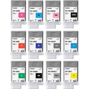 Εικόνα της Pigment Ink Tank PFI - 106 Photo Grey 130ml for IPF6450