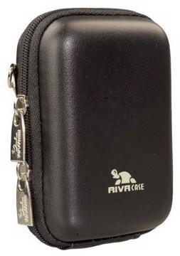 Εικόνα της RivaCase 7023 (PU) Davos Digital Case black leather Θήκη φωτογραφικής μηχανής