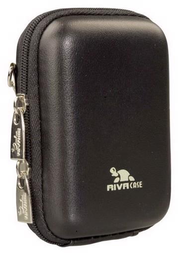 Φωτογραφία από RivaCase 7023 (PU) Davos Digital Case black leather Θήκη φωτογραφικής μηχανής