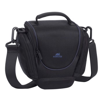 Picture of RivaCase 7202 IPAΝEMA SLR Holster Case with side pockets Black Τσάντα μεταφοράς DSLR