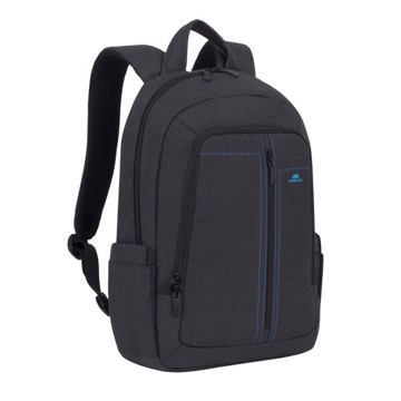 "Εικόνα της RivaCase 7560 Alpendorf Laptop Canvas Backpack 15.6"" black Τσάντα μεταφοράς Laptop"
