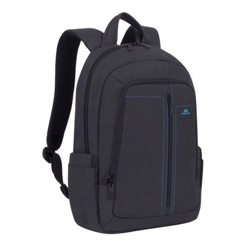 """Φωτογραφία από RivaCase 7560 Alpendorf Laptop Canvas Backpack 15.6"""" black Τσάντα μεταφοράς Laptop"""