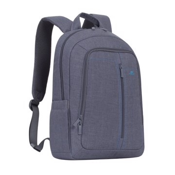 "Εικόνα της RivaCase 7560 Alpendorf Laptop Canvas Backpack 15.6"" grey Τσάντα μεταφοράς Laptop"