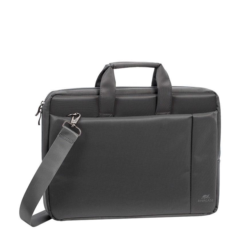 02dd084000 Divitec B2B e-Shop. RivaCase 8231 Central grey Laptop bag 15