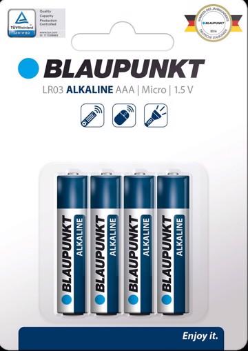 Φωτογραφία από BLAUPUNKT Alkaline LR03  AAA 4 pack