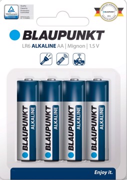 Picture of Blaupunkt Alkaline LR6 AA 4 pack