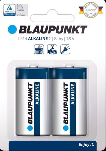 Φωτογραφία από Blaupunkt Alkaline LR14 C  2 pack
