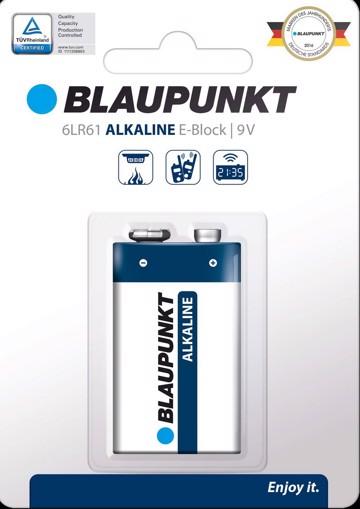 Φωτογραφία από Blaupunkt Alkaline 6LR61 9V 1 pack
