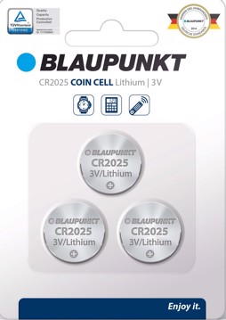 Picture of Blaupunkt Coincell CR2025  3 pack