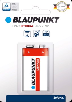 Picture of Blaupunkt Lithium LT922 9V 1 pack