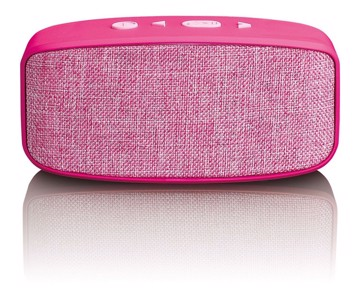 Picture of LENCO BLUETOOTH SPEAKER  BT-120 PINK Ηχείο Bluetooth