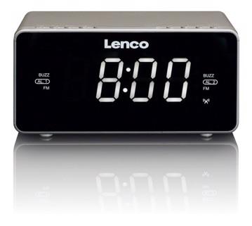 Picture of LENCO CLOCK RADIO CR-530 TAUPE Ράδιοξυπνητήρι