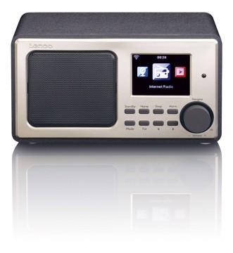 Picture of LENCO INTERNET RADIO DIR-100 BLACK Ραδιόφωνο διαδικτύου