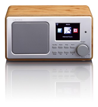 Picture of LENCO INTERNET RADIO DIR-100 WOOD Ραδιόφωνο διαδικτύου