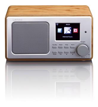 Picture of LENCO INTERNET RADIO DIR-100 WOOD Ραδιόφωνο διαδικτύου