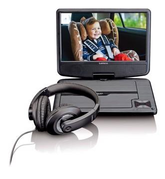 Εικόνα της LENCO PORTABLE DVD DVP-910 BLACK Συσκευή αναπαραγωγής DVD