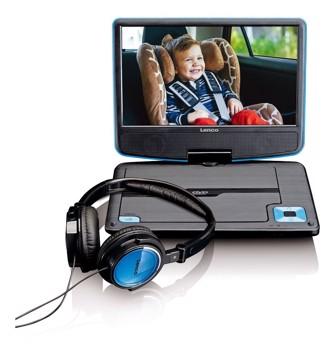 Εικόνα της LENCO PORTABLE DVD DVP-910 BLUE Συσκευή αναπαραγωγής DVD