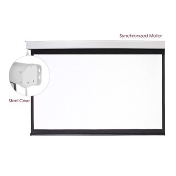 Εικόνα της BRATECK ELECTRICAL SCREEN 162'' ESAA162