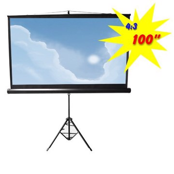 Εικόνα της PROJECTION SCREEN  WITH TRIPOD ESDC100