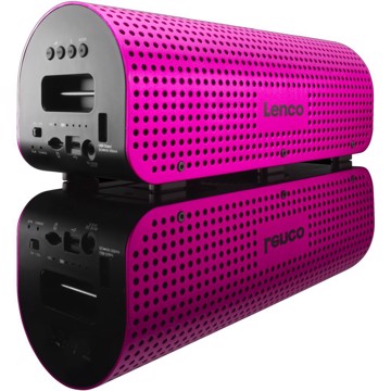 Picture of LENCO BLUETOOTH SPEAKER GRID-7 PINK Ηχείο Bluetooth
