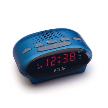 Picture of LENCO CLOCK RADIO ICR-210 BLUE Ράδιοξυπνητήρι