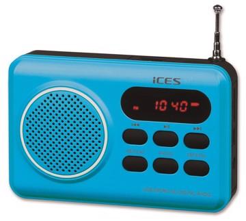Picture of LENCO RADIO IMPR-112 BLUE Φορητό Ραδιόφωνο