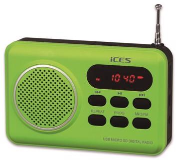 Picture of LENCO RADIO IMPR-112 GREEN Φορητό Ραδιόφωνο