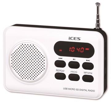 Picture of LENCO RADIO IMPR-112 WHITE Φορητό Ραδιόφωνο