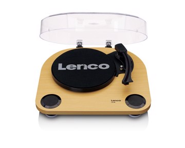 Picture of Lenco LS-40BK - Turntable with built-in speakers - Black