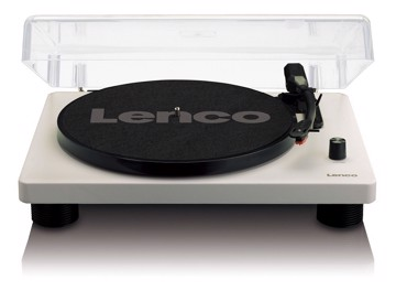 Picture of Lenco LS-50 GY - Turntable with built-in speakers USB Encoding - Grey