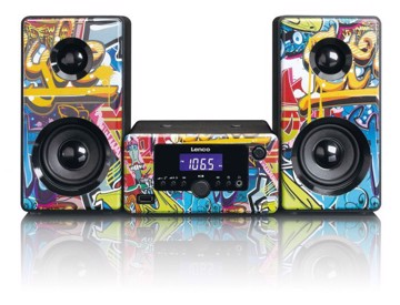 Picture of LENCO SOUND SYSTEM MC-020 TAGS Micro Hi-Fi