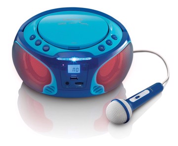Picture of LENCO BOOMBOX SCD-650 BLUE Φορητό ράδιo/CD
