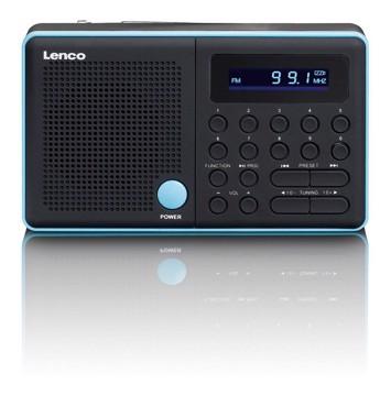 Picture of LENCO RADIO MPR-034 BLUE Φορητό ραδιόφωνο