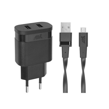 Εικόνα της RIVAPOWER VA 4123 BD1 Wall Charger AC 2USB x 3,4A