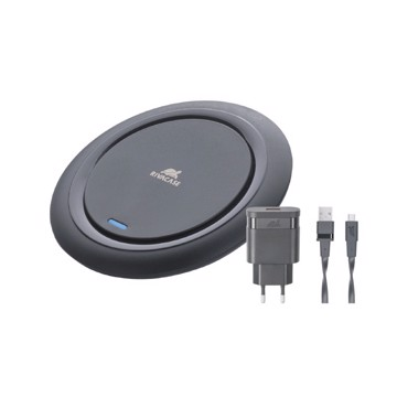 Εικόνα της RIVACASE VA4914 BD1 wireless fast charger black 10W with wall charger
