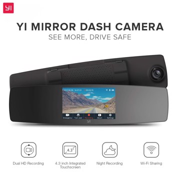 Picture of YI Mirror Dash Camera