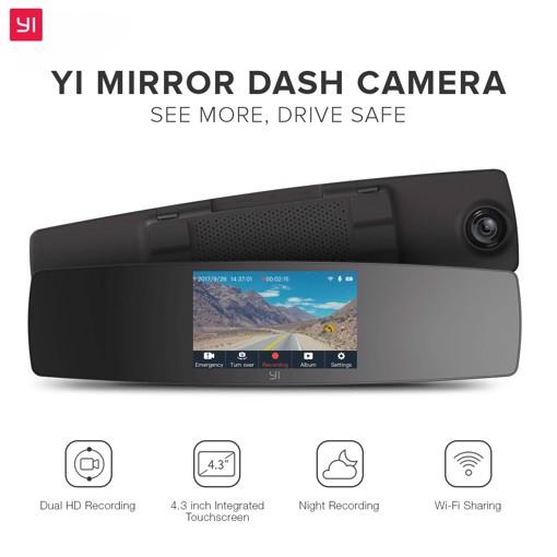 Picture of YI Mirror Dash Camera