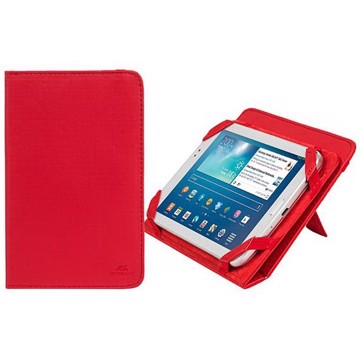 "Εικόνα της RivaCase 3202 red kick-stand tablet folio 7"" 12/48 Θήκη tablet"