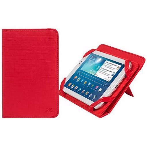 """Φωτογραφία από RivaCase 3202 red kick-stand tablet folio 7"""" 12/48 Θήκη tablet"""