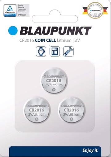 Φωτογραφία από Blaupunkt Coincell CR2016  3 pack