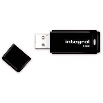 Picture of INTEGRAL USB Flash Drive Black 3.0 - 64GB Μαύρο