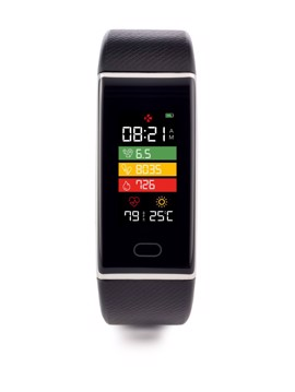 Picture of MYKRONOZ Activity Tracker ZETRACK Black