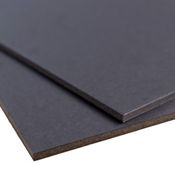 Picture of BLACK-ADHESIVE 2,000 x 1,000 x 10 MM  sheet, min  15 Sheet/Box