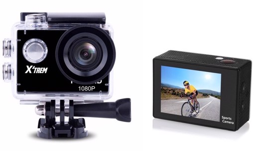 Picture of Action camera with 1080p resolution and accessories