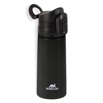 Εικόνα της Rivacase 90351 Βlack Vacuum flask, 0.35L Θερμός Μαύρο